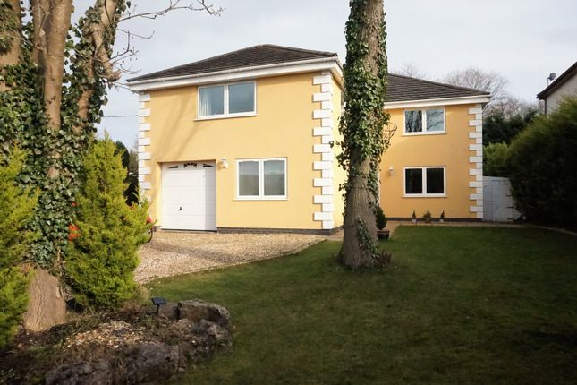 5 bed detached house for sale in Cefn Bychan Road, Pantymwyn, Mold