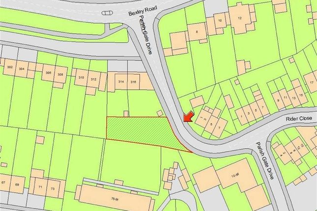 Thumbnail Land for sale in Parish Gate Drive, Sidcup