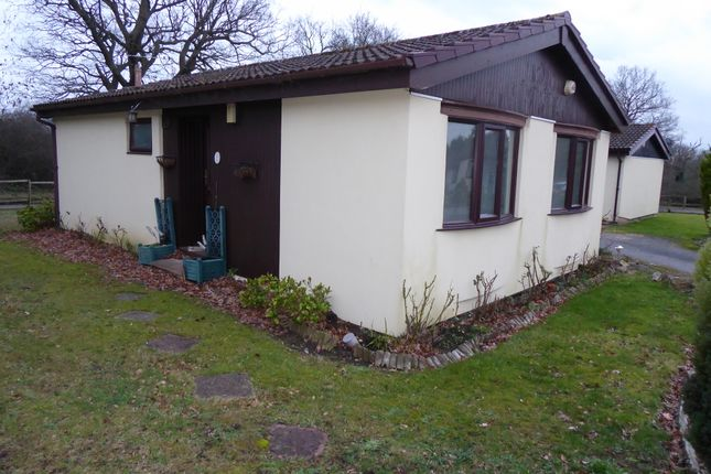 Thumbnail Mobile/park home for sale in Groveheath Court, Gambles Lane, Ripley, Surrey