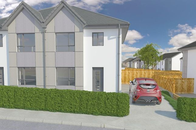 Thumbnail Semi-detached house for sale in Plot 28, Grove Park, Ramsey