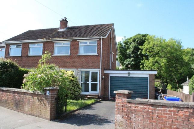 Thumbnail Semi-detached house to rent in Gilnahirk Road, Belfast