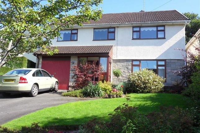 Thumbnail Detached house for sale in Ton Road, Llangybi Nr Usk, Monmouthshire