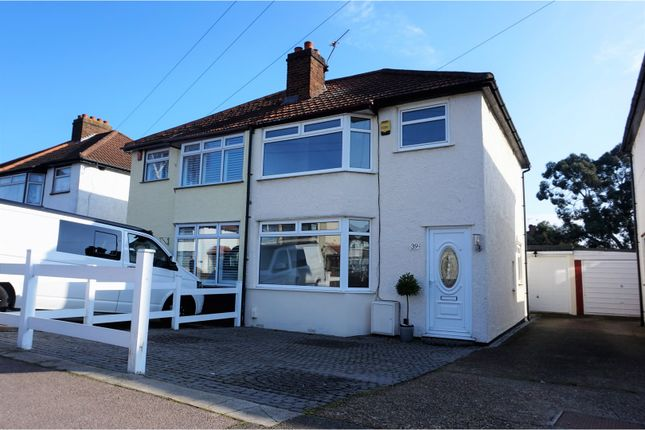Thumbnail Semi-detached house for sale in Porthkerry Avenue, Welling