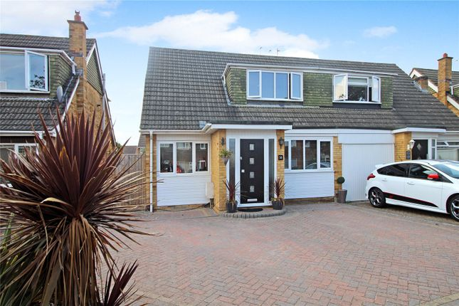 Thumbnail Semi-detached house for sale in Nythe Road, Coleview, Swindon, Wiltshire