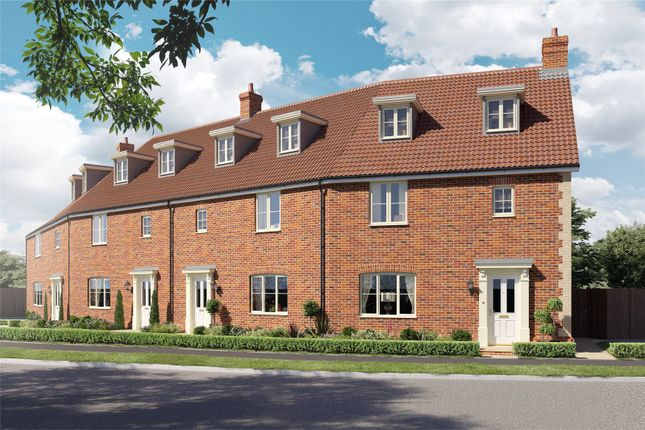 Thumbnail Terraced house for sale in Plot 11 Heronsgate, Blofield, Norwich, Norfolk
