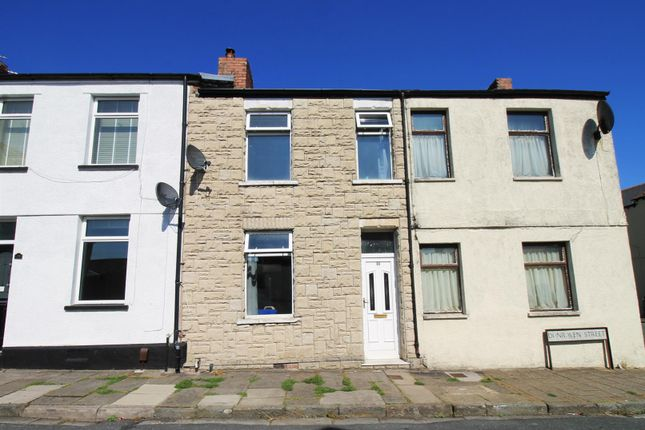 Thumbnail Terraced house to rent in Dunraven Street, Barry