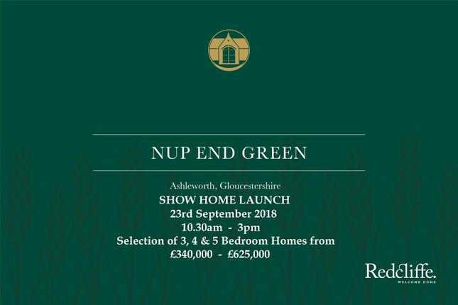Thumbnail Detached house for sale in Show Home Launch, Nup End, Ashleworth