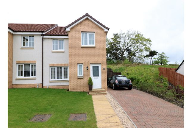 Thumbnail Semi-detached house for sale in Wester Newlands Drive, Falkirk