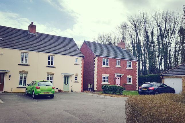 Thumbnail Semi-detached house for sale in Heol-Y-Cwrt, North Cornelly