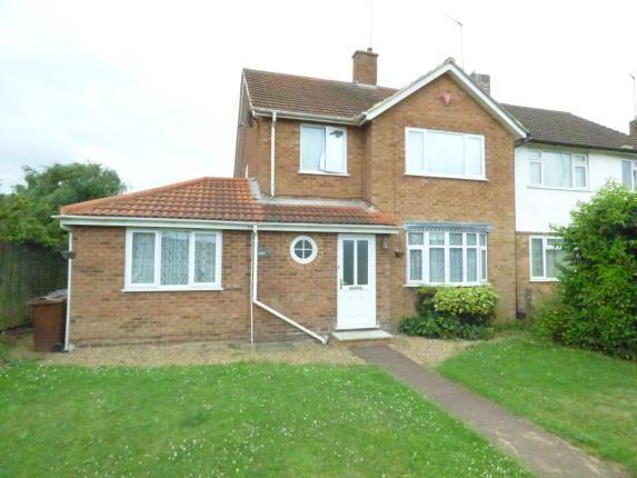 4 bed semi-detached house for sale in Harlestone Road, Duston, Northampton, Northamptonshire