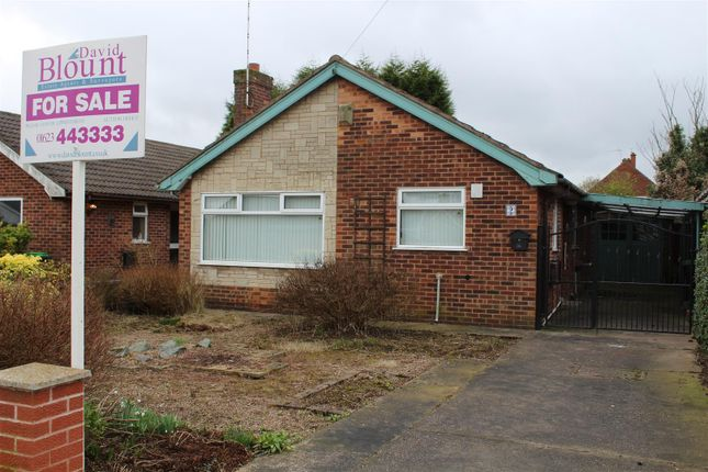 Detached bungalow for sale in Greenland Road, Sutton-In-Ashfield
