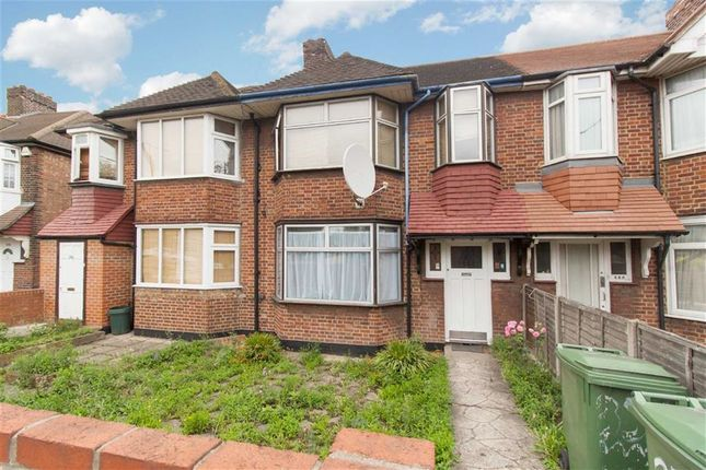 Thumbnail Terraced house to rent in Western Avenue, London