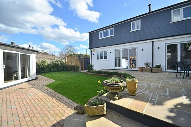 Thumbnail Semi-detached house for sale in Cross Road, Bromley