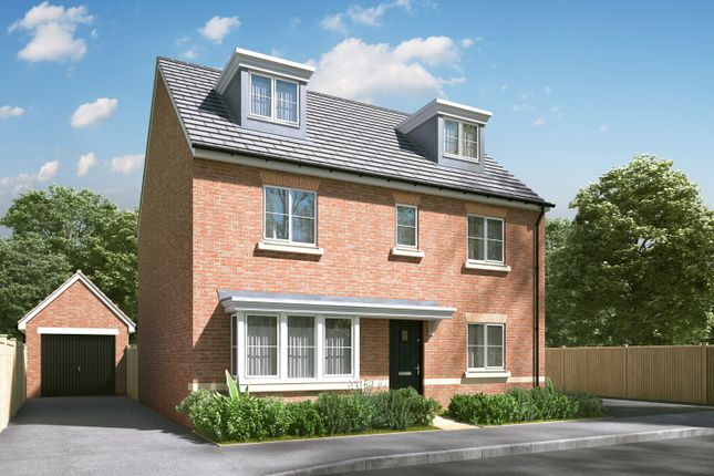 """Thumbnail Detached house for sale in """"The Fletcher"""" at Pamington, Tewkesbury"""