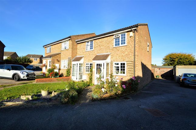 Thumbnail Terraced house for sale in Millbrook, Leybourne, West Malling