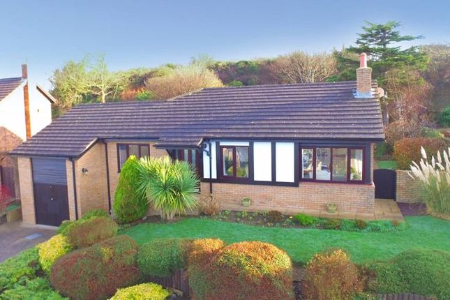 Thumbnail Detached bungalow for sale in Dalar Las, Glan Conwy, Colwyn Bay