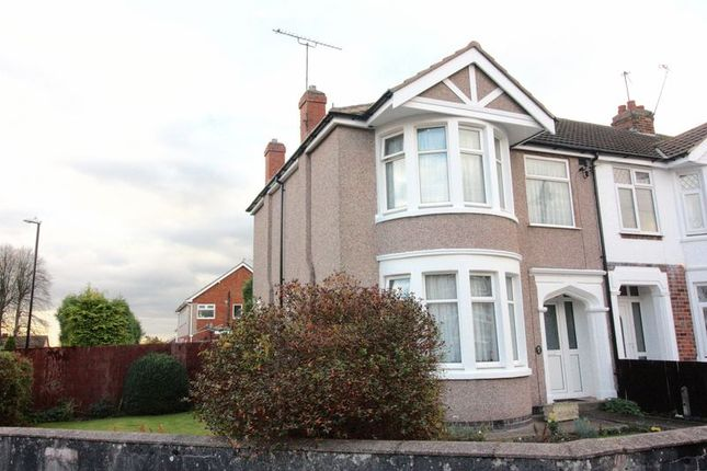 3 bed end terrace house for sale in Rosslyn Avenue, Coundon, Coventry
