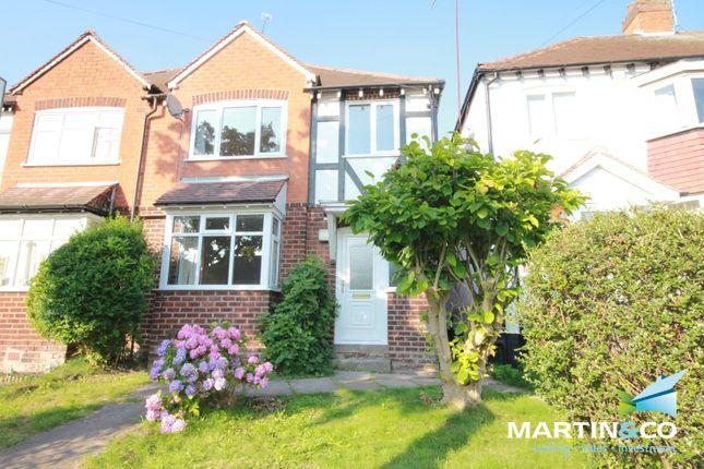 Thumbnail Semi-detached house to rent in Woodleigh Avenue, Harborne