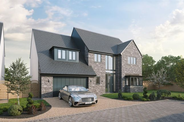 Thumbnail Detached house for sale in Plot 10, The Raglan, Gower Heights, Gower Road, Upper Killay, Swansea