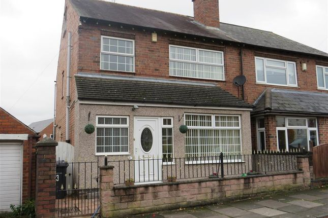 Thumbnail Semi-detached house for sale in West Park Road, Derby
