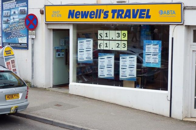 Retail premises for sale in Bank Street, Newquay