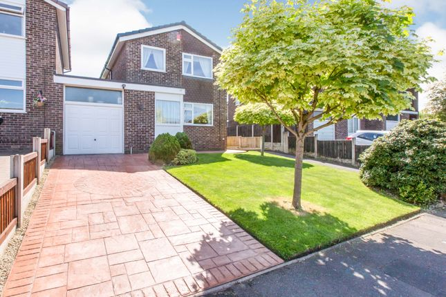 Thumbnail Link-detached house for sale in Bollin Drive, Congleton, Cheshire