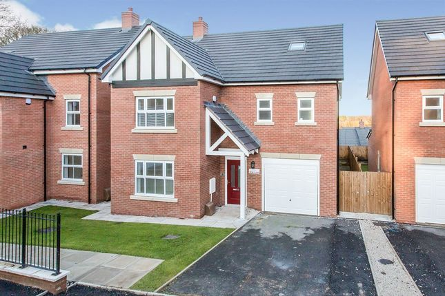 Thumbnail Detached house for sale in Plot 18, Forge Lane, Congleton, Cheshire