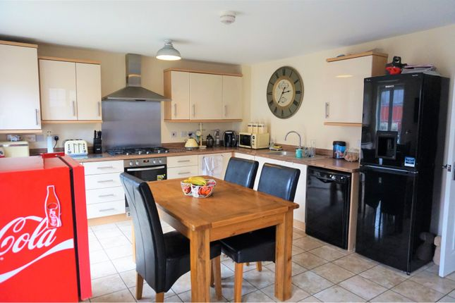 Thumbnail Detached house for sale in Brunel Way, Swadlincote