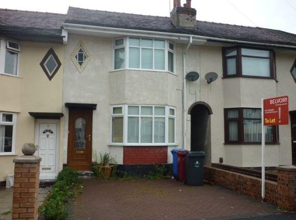 Thumbnail Town house to rent in Sandiway, Whiston, Prescot