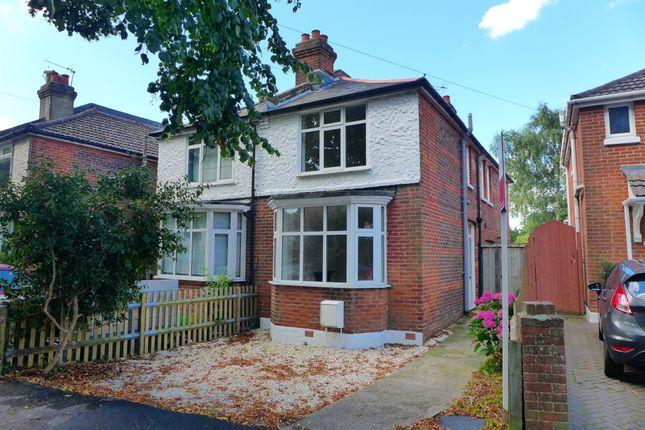 Thumbnail Semi-detached house for sale in King Edward Avenue, Regents Park, Southampton