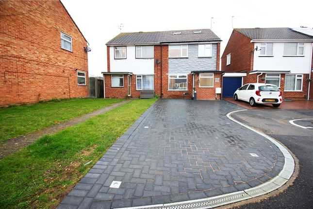 Thumbnail Semi-detached house for sale in Lorne Close, Slough, Berkshire