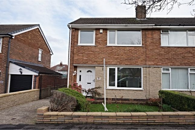Thumbnail Semi-detached house to rent in Crispin Gardens, Sheffield