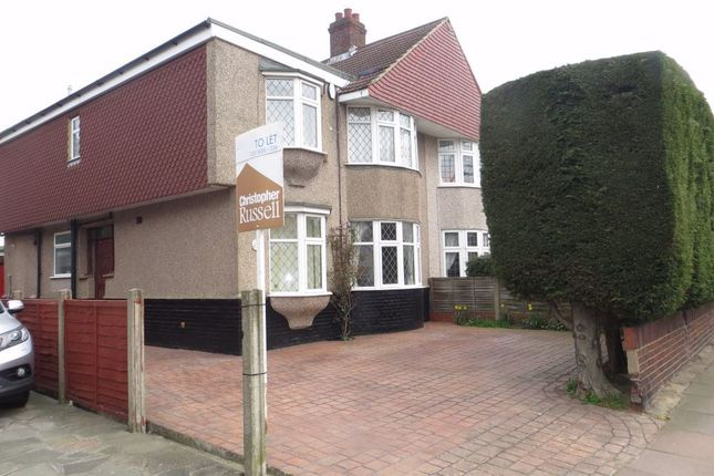 Thumbnail Semi-detached house to rent in Hurst Road, Sidcup