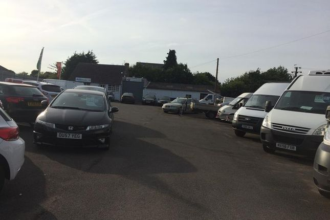 Thumbnail Commercial property for sale in Graham Davis (Commercials) Limited, 150 Caistor Road, Laceby, Grimsby