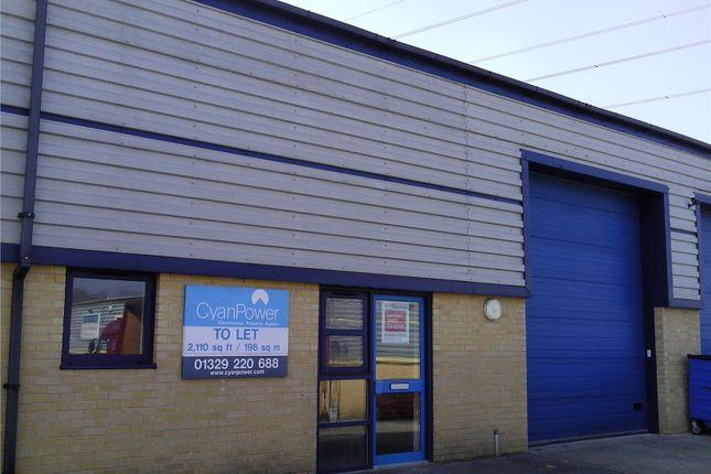 Thumbnail Pub/bar to let in Premier Business Centre, Speedfields Park, Fareham, South East