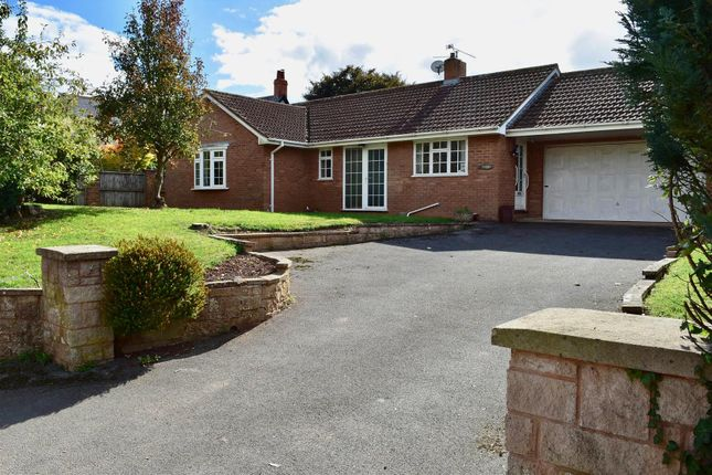 Thumbnail Detached bungalow for sale in Nynehead, Wellington