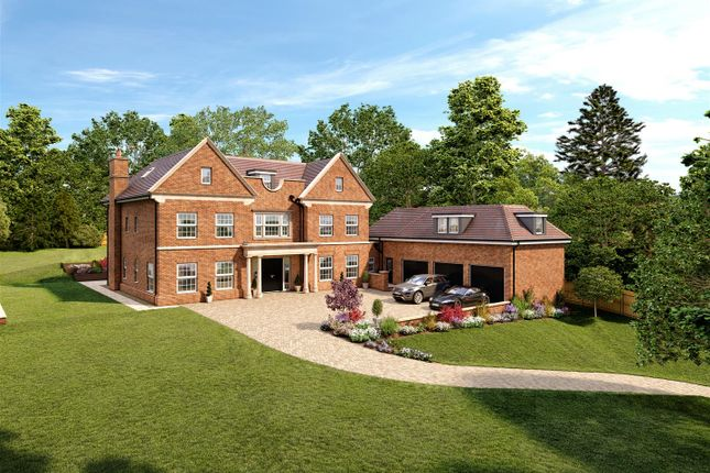 Thumbnail Detached house for sale in Burleigh Lane, Ascot
