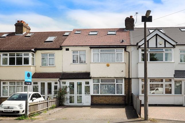 Thumbnail Terraced house for sale in Matlock Crescent, Cheam, Sutton