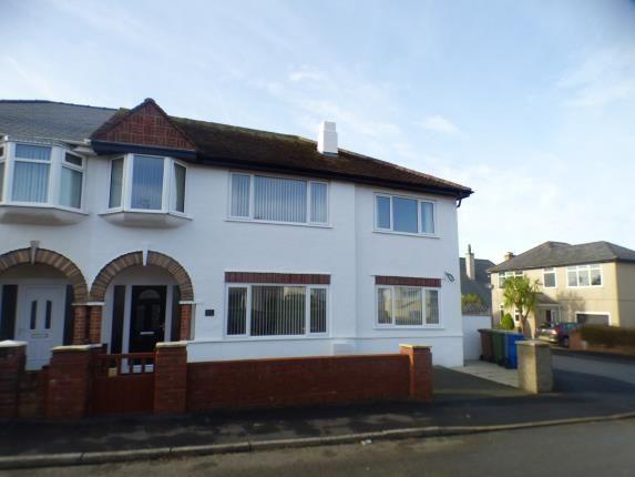 Thumbnail Semi-detached house for sale in Manor Avenue, Pwllheli, Gwynedd