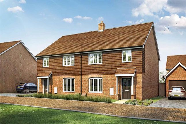 """Thumbnail Semi-detached house for sale in """"The Huxford - Plot 125"""" at Peckham Chase, Eastergate, Chichester"""