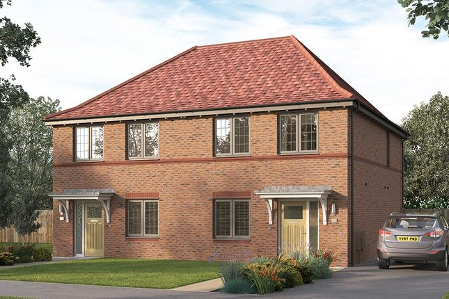 "Thumbnail Semi-detached house for sale in ""The Lorton"" at Steeplechase Way, Market Harborough"