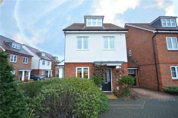Thumbnail Link-detached house for sale in Clarks Farm Way, Blackwater, Surrey