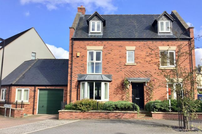 Thumbnail Detached house for sale in Wooley Road, Lawley Village, Telford