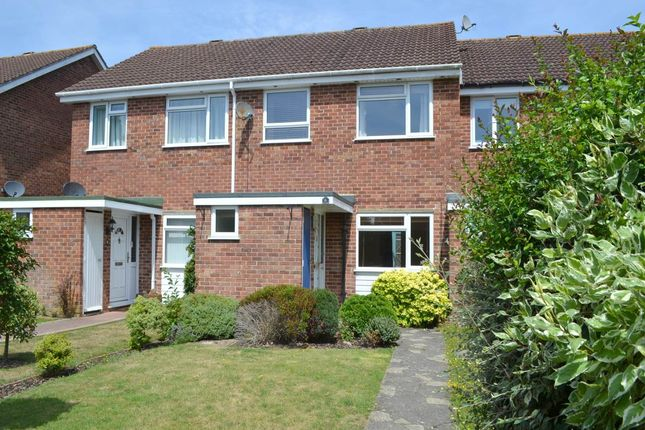 Thumbnail Terraced house to rent in Clare Walk, Wash Common, Newbury