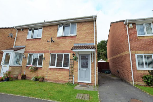 Thumbnail Semi-detached house for sale in Blackberry Drive, Barry
