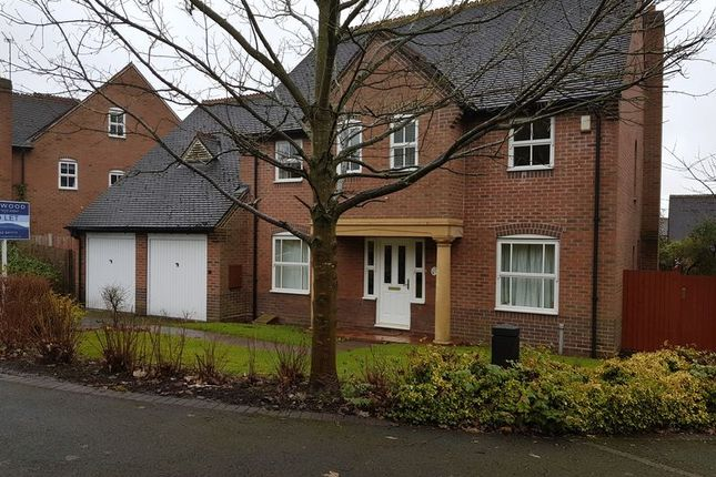 Thumbnail Detached house to rent in 19 Simpsons Walk, Horsehay, Telford