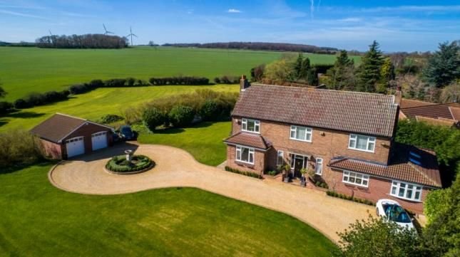 Thumbnail Detached house for sale in Common Road, Thorpe Salvin, Worksop, South Yorkshire