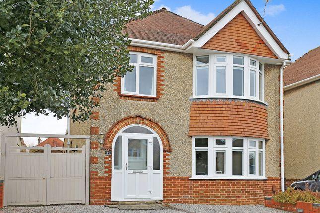 Thumbnail Detached house for sale in St. Aubins Avenue, Southampton