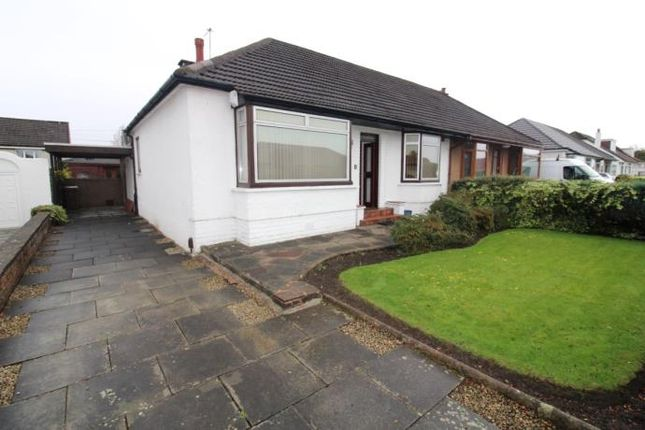 Thumbnail Detached bungalow to rent in Pearson Drive, Renfrew