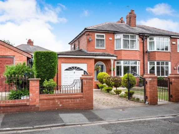 Thumbnail Semi-detached house for sale in Bedford Avenue, Worsley, Manchester, Greater Manchester